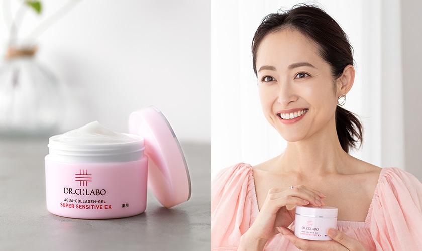 モデルも愛するドクターシーラボの「ピンクの薬用ゲル」でマスク敏感肌にも負けない肌