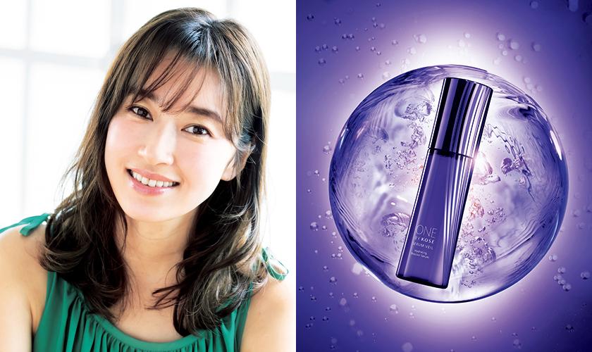 日本で唯一のうるおい改善美容液で、揺らがない肌!
